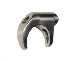 Easy Hold sistema di ancoraggio per vetro e per tubolari in acciaio ideale per parapetti e ringhiere